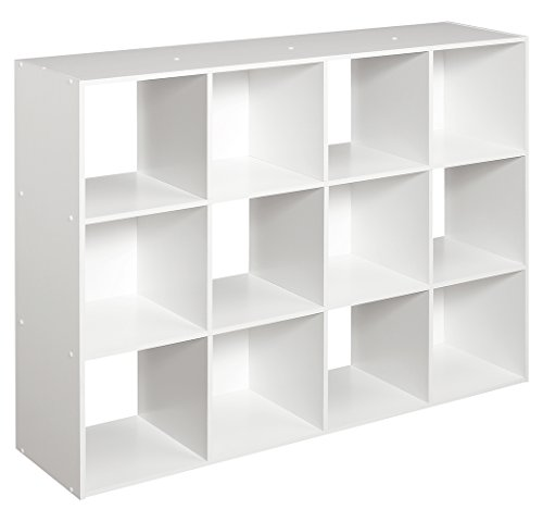 ClosetMaid 1290 Cubeicals 12 Cube Organizer, White