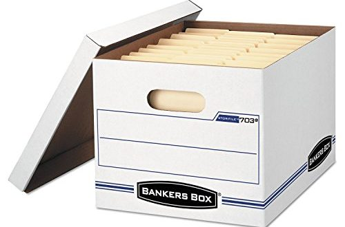 Bankers Box Stor File Storage Boxes With Lift Off Lid