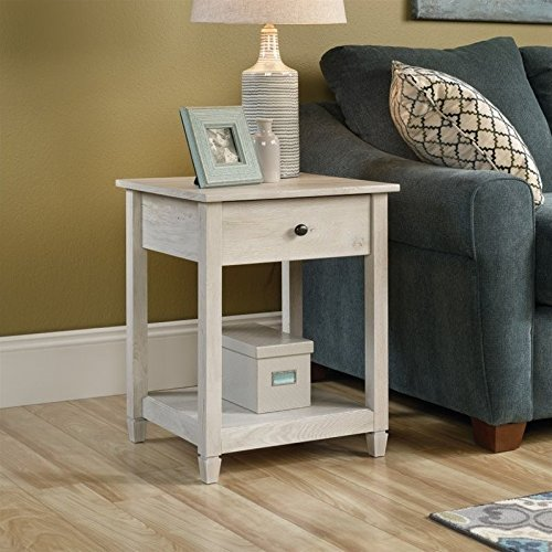 Sauder Edge Water 2 Door Chest In Chalked Chestnut Preferredcheap